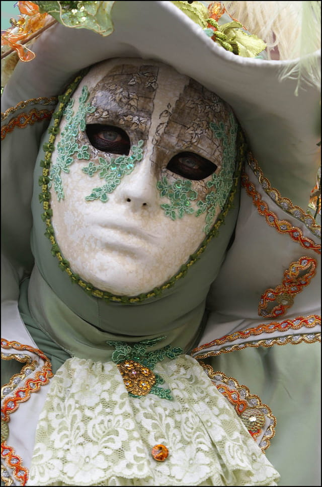 Masque vénitien 6 à Stavelot