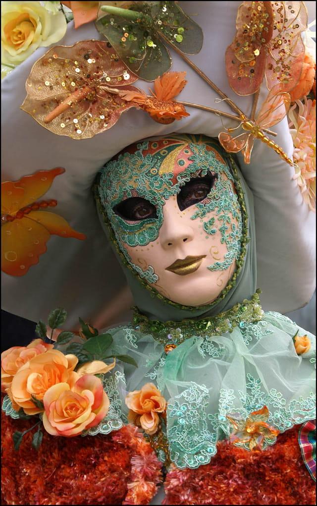 Masque vénitien 7 à Stavelot