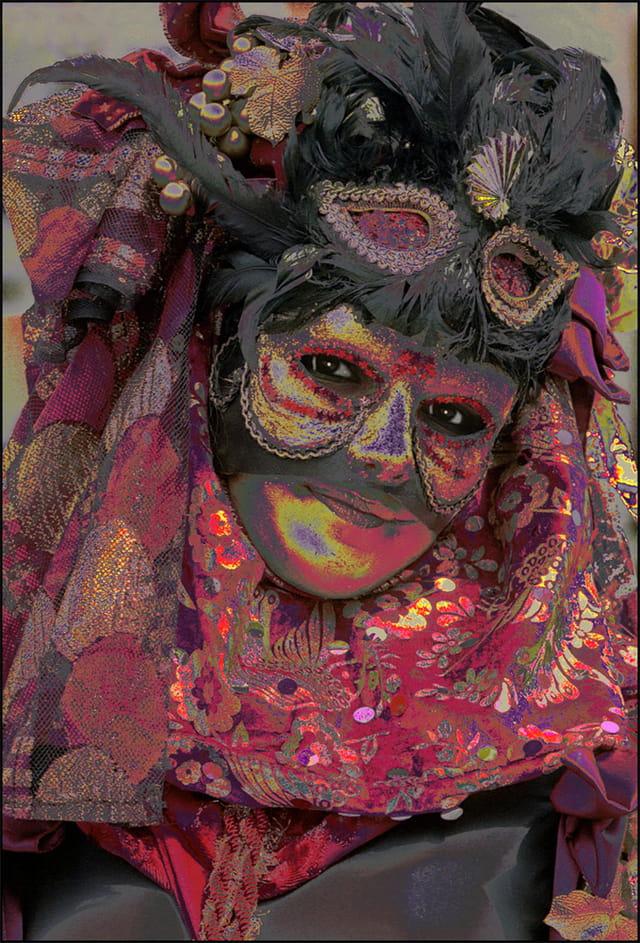 Masque vénitien à Stavelot