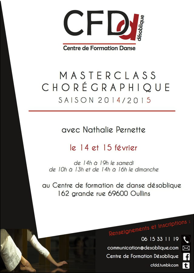 Masterclass avec Nathalie Pernette