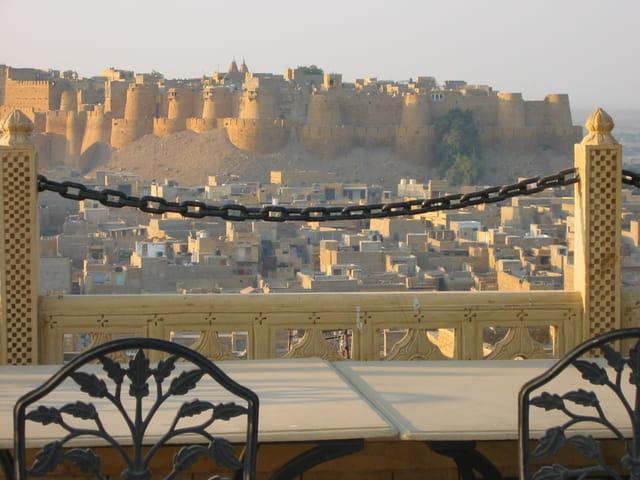 Matin à Jaisalmer Inde