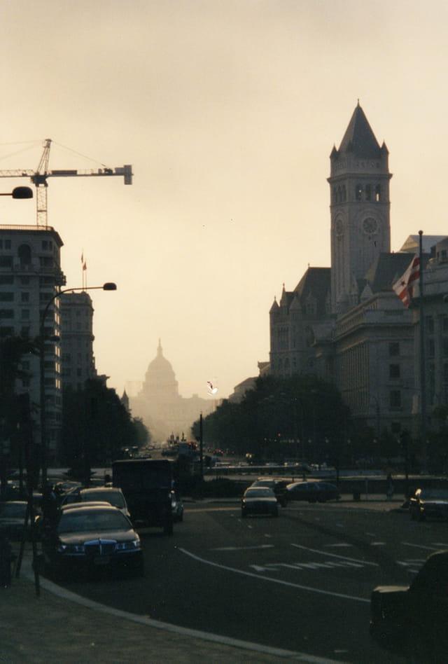 Matin à Washington DC