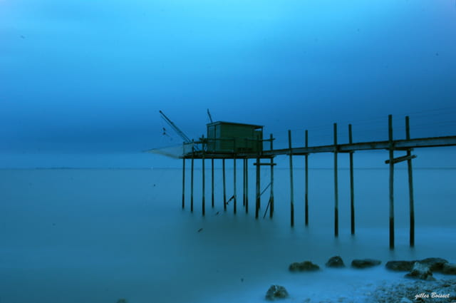 matin bleu