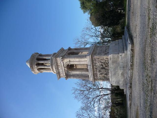 Mausolée romain des  Antiques à Saint Rémy de Provence.