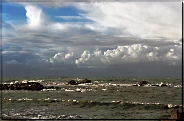 Mauvais temps en mer