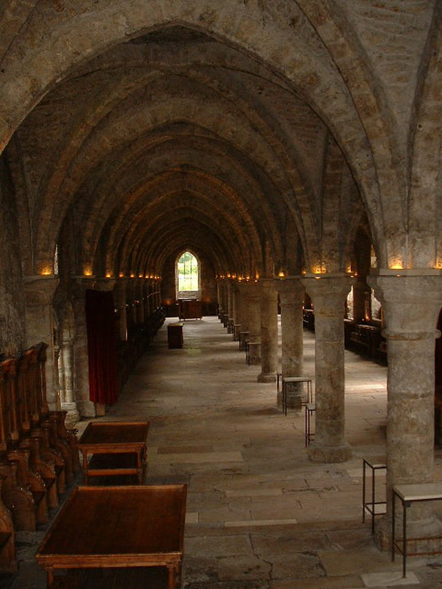 Méditation à l ' abbaye