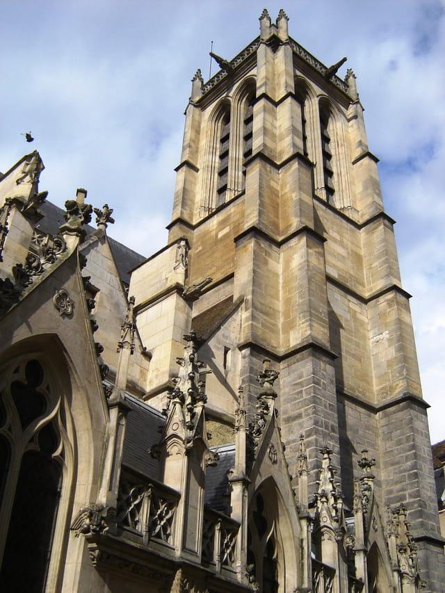 Melun, l\'église Saint Aspais