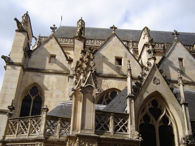Melun, l'église Saint Aspais