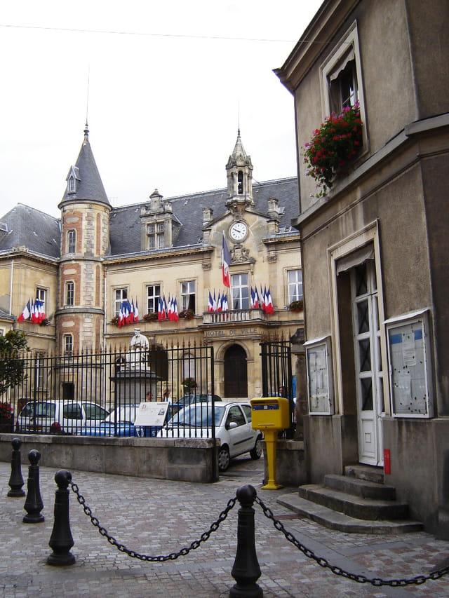 Melun, la mairie