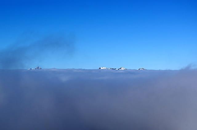Mer de nuage 1