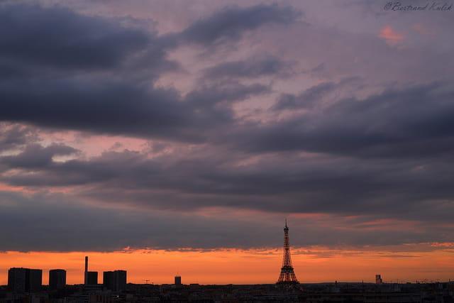 Mer de nuages Parisiens
