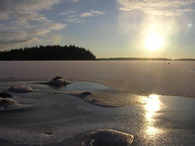 Mer glacée