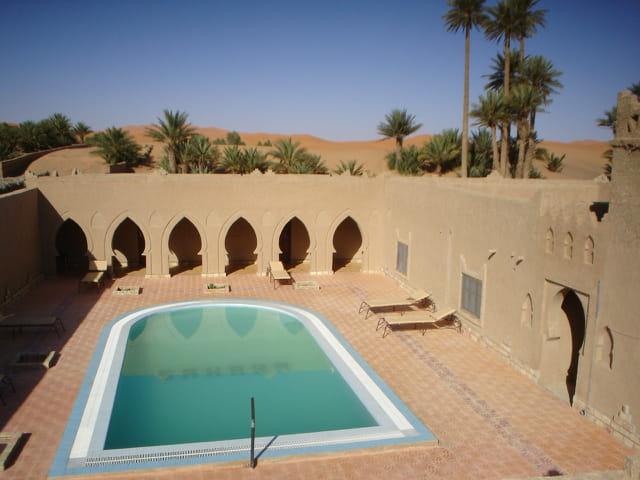 Merzouga. Hotel SAHARA