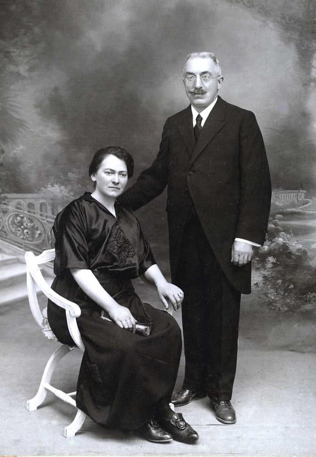Mes arrières grands parents