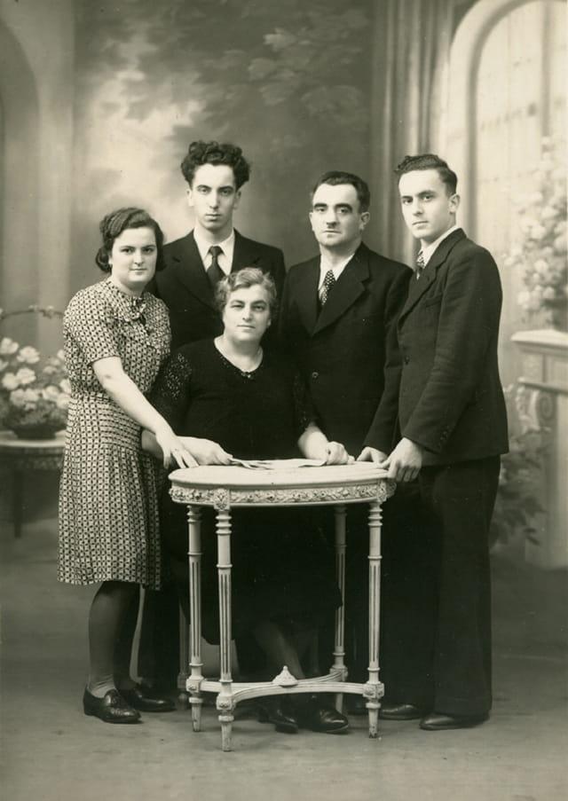 Mes gds-parents et leurs enfants