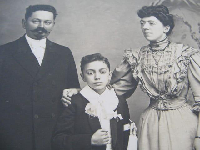 Mes grand parents et mon oncle