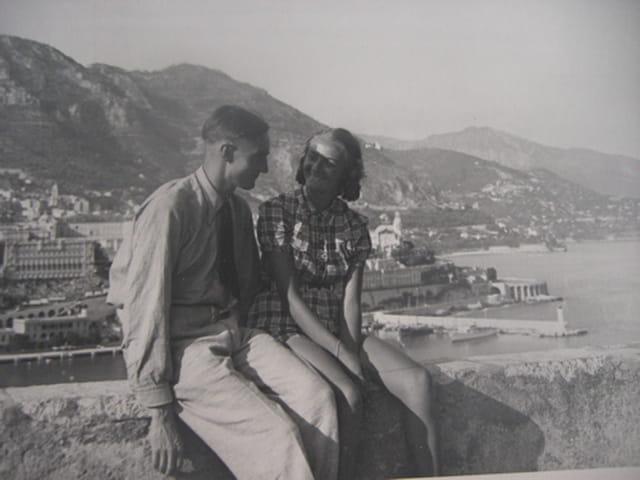 Mes parents en 1938