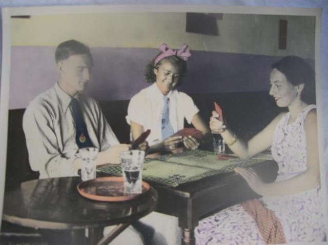 Mes parents en 1940