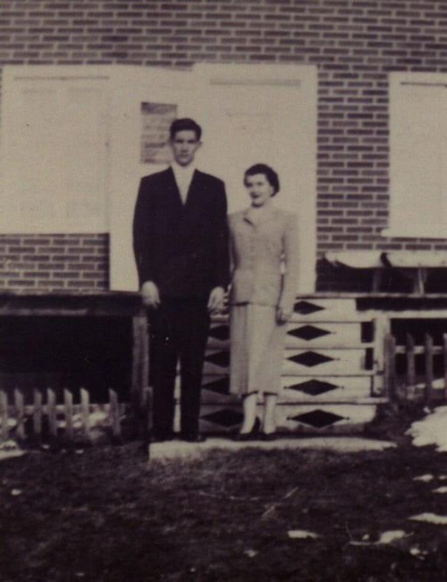 Mes parents en 1953