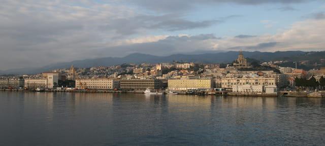 Messina vista dallo Stretto