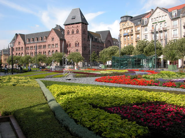 Metz ville fleurie
