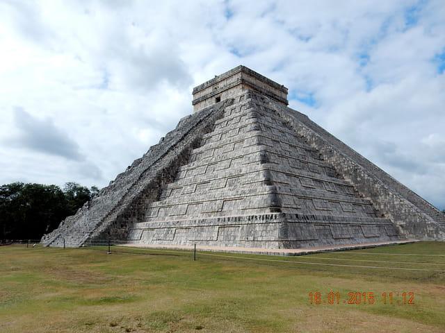 MEXIQUE Riviera Maya, temple Maya à Tchichen Itza