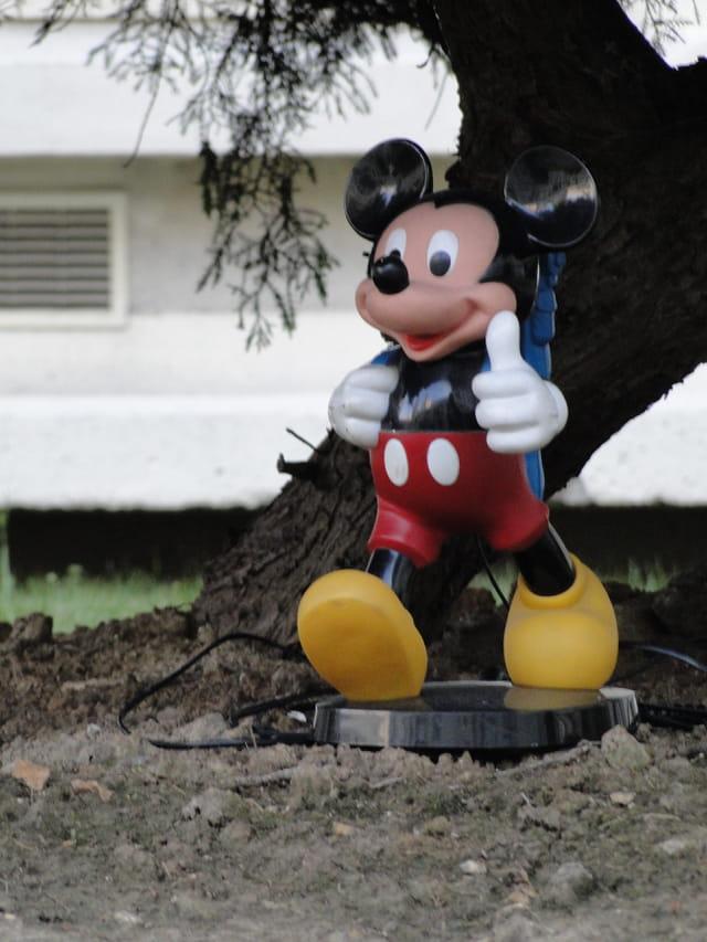 Mickey in Paris