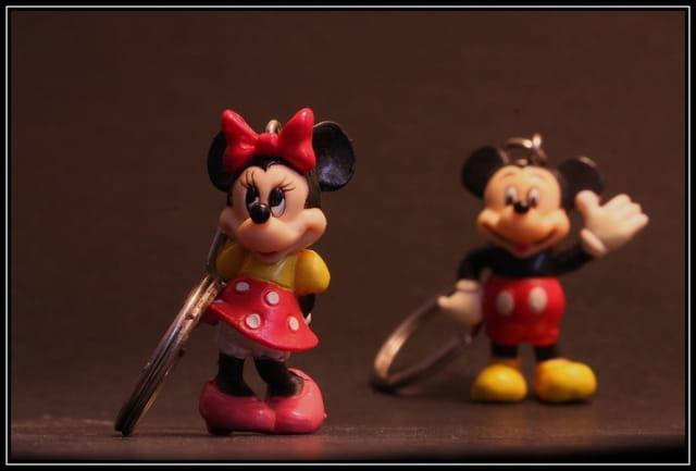 Mickey en perspective
