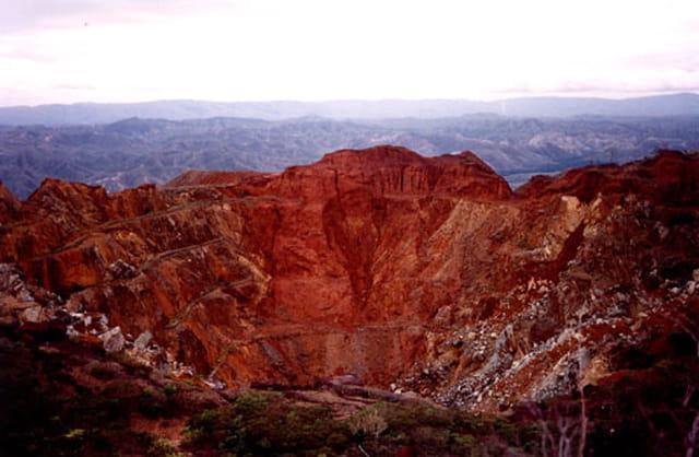 Mine de chrome de tiebaghi