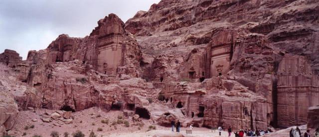 Minime partie des tombes de Petra