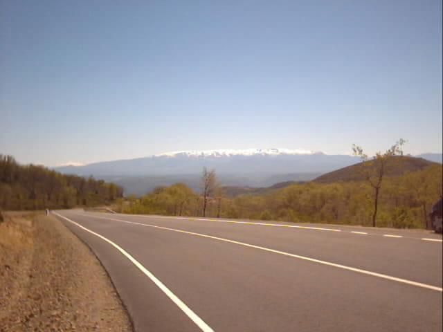 Miranda, la chaîne de montagne