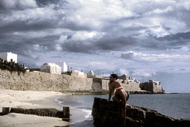 Moi même sur la plage de Hammamet