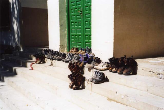 Moi mes souliers.......
