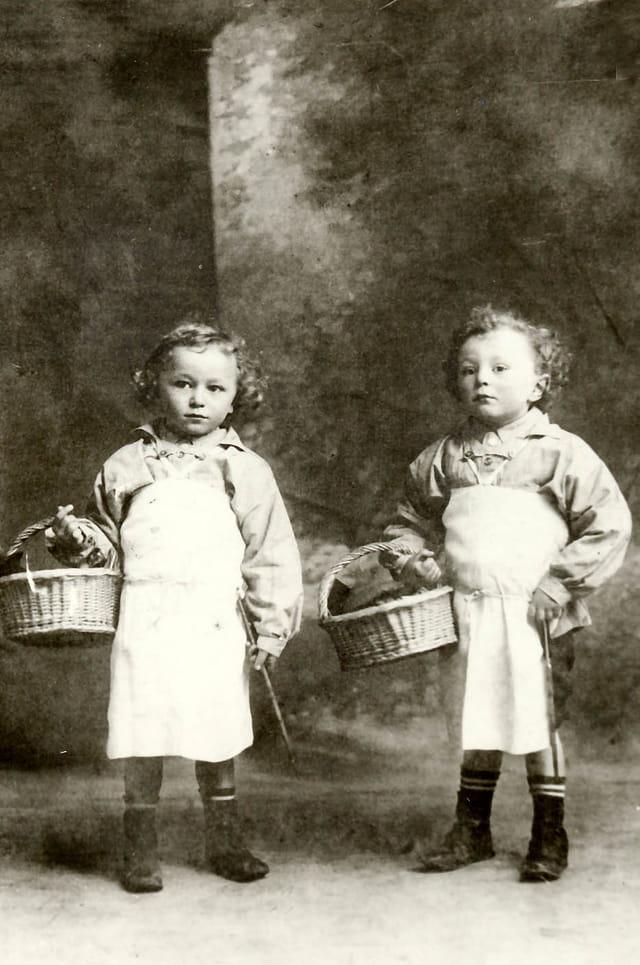 Mon arrière grand-père et son frère