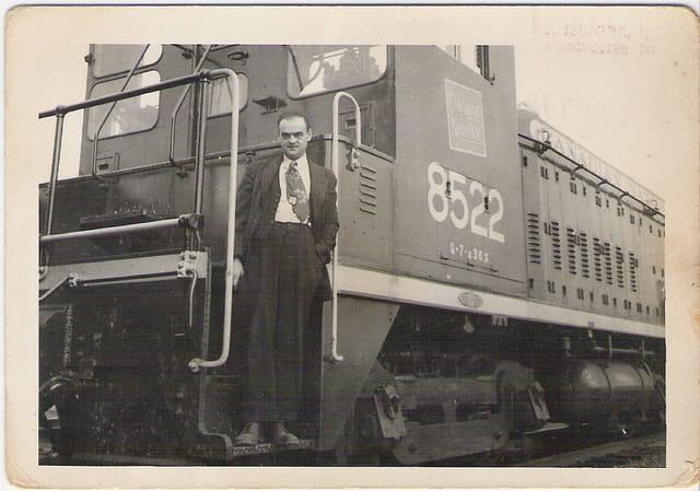 Mon père conducteur de train