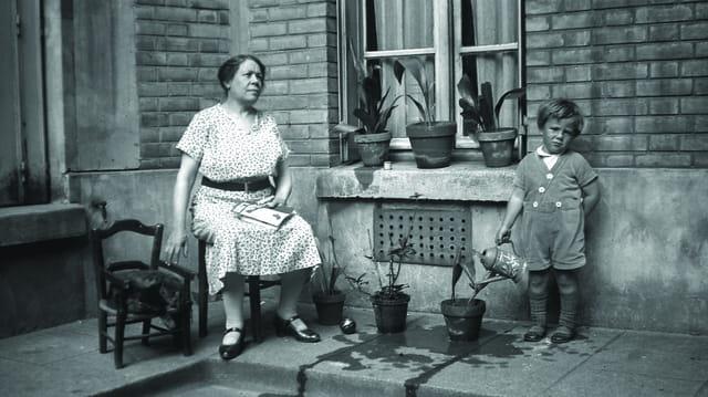 Mon père et sa grand mère (1)