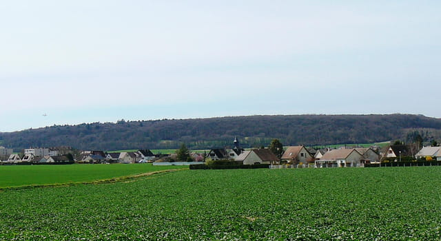 Mon village au printemps