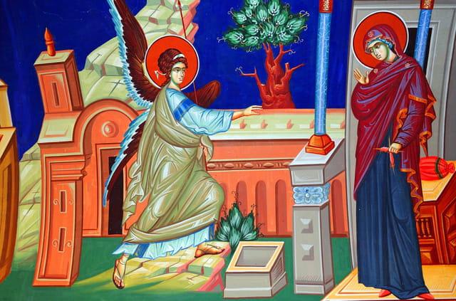 Monastère de Kykkos, fresque.