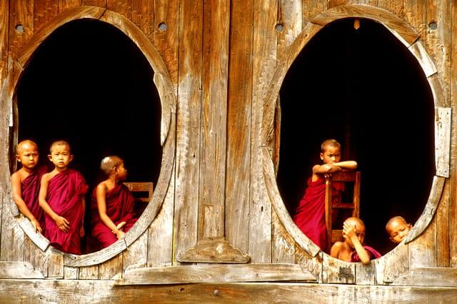Monastère de shwe yan pyay