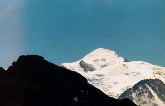 Mont blanc et mont noir
