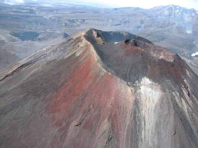 Mont Ngauruhoe dans le parc national de Tongariro