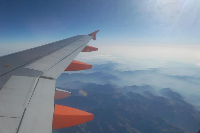 Montagne Corse vue d'avion