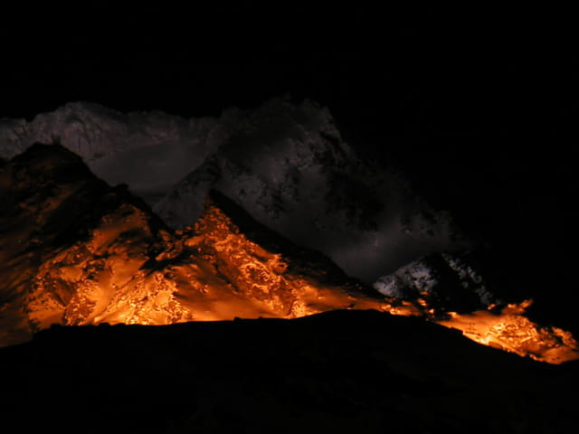 Montagne de nuit