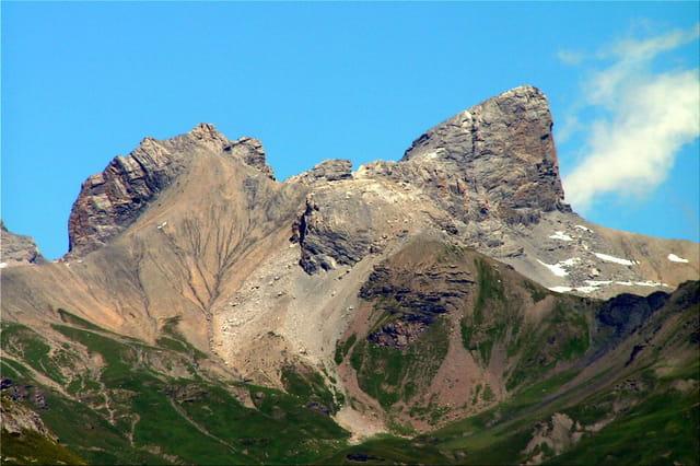 Montagne éclatée