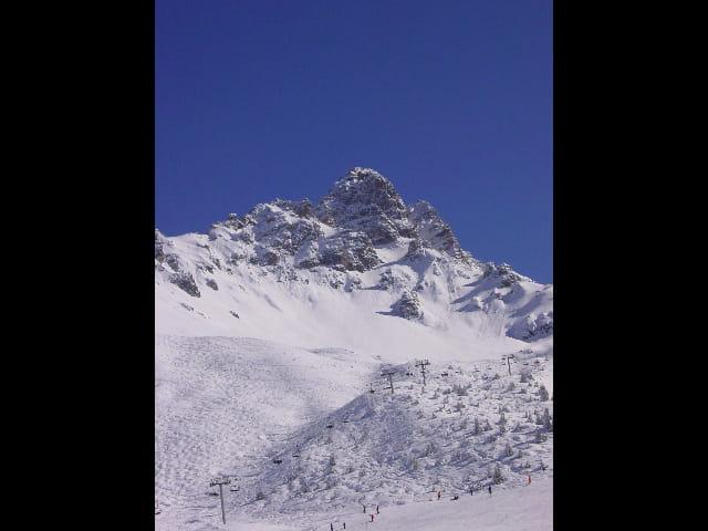 Montagne et piste