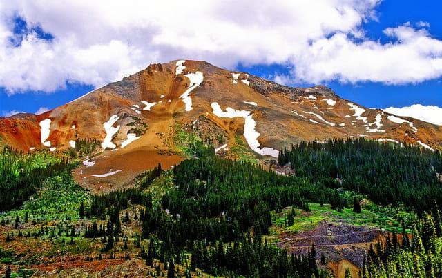 Montagnes Rocheuses dans le Colorado