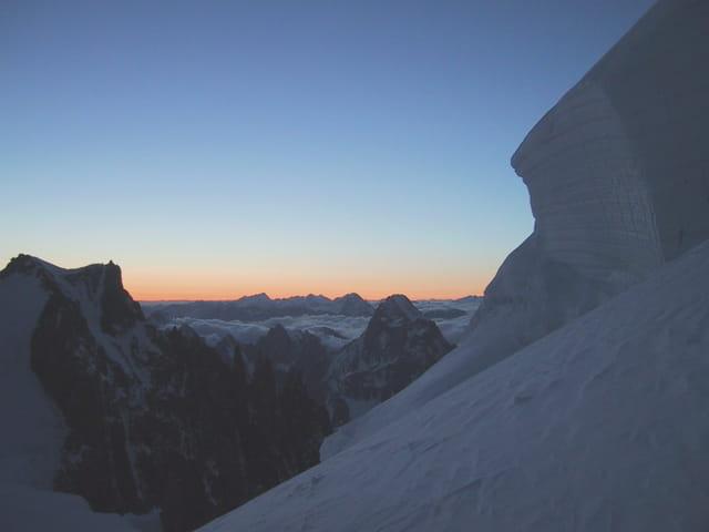 Montée au mont blanc