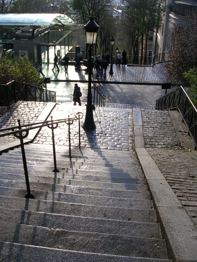 Montmartre, en ce temps là...
