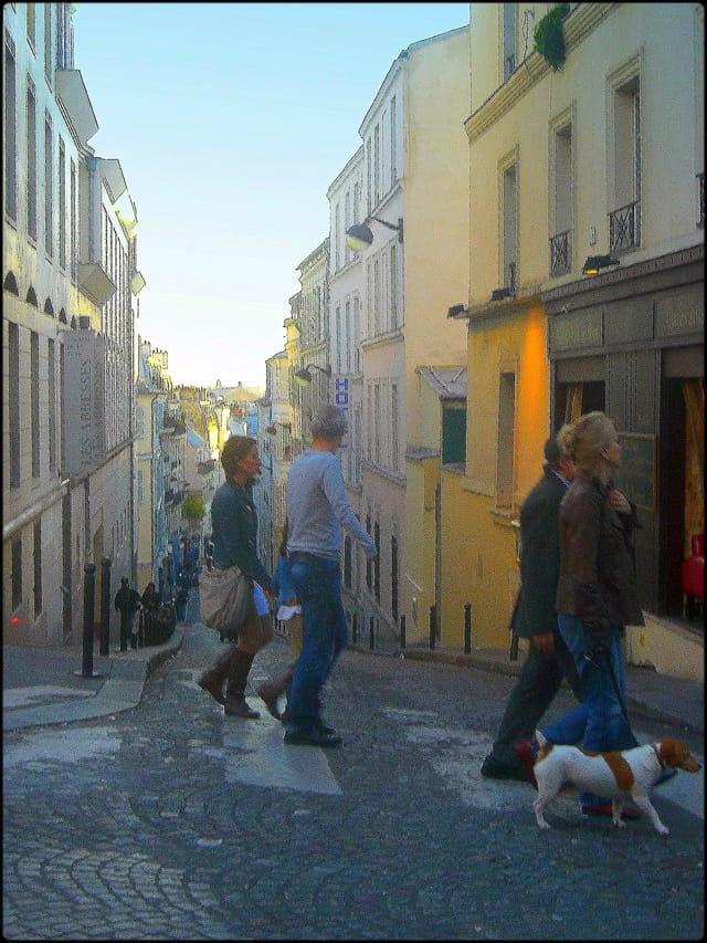 Montmartre en pente raide