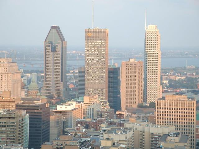 Montréal, le centre ville